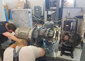 Техническое обслуживание винтовых компрессоров